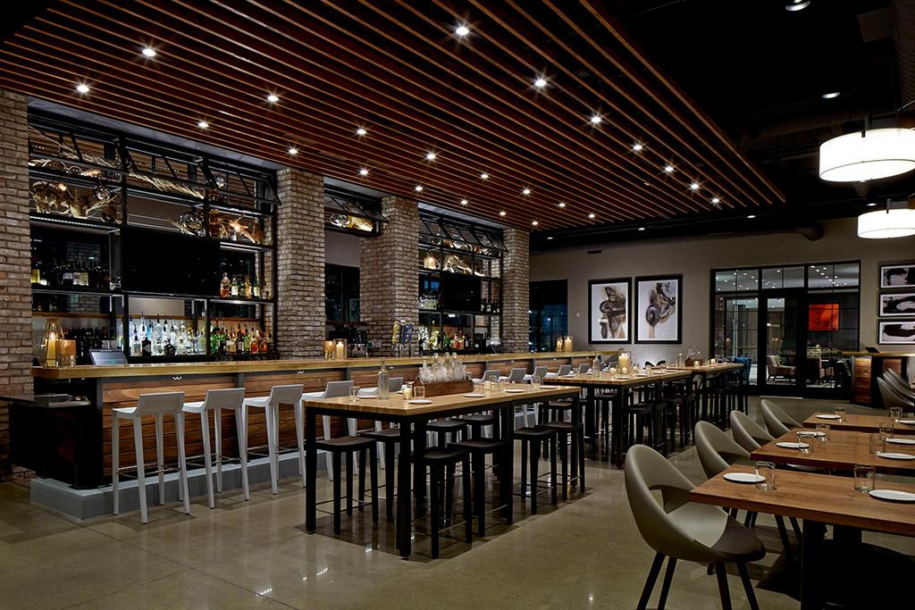 Grappa bar top grand wood